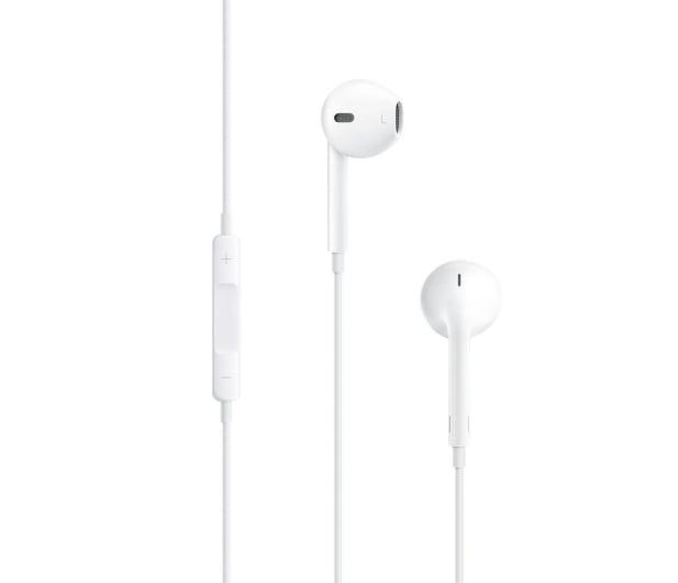 Apple EarPods z pilotem i mikrofonem - Słuchawki przewodowe ...
