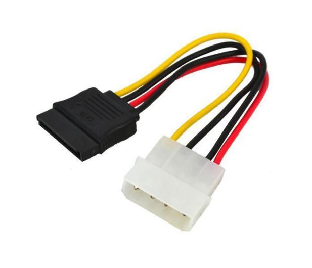SHIRU molex->SATA (zasilanie SATA HDD/ODD) - 327246 - zdjęcie