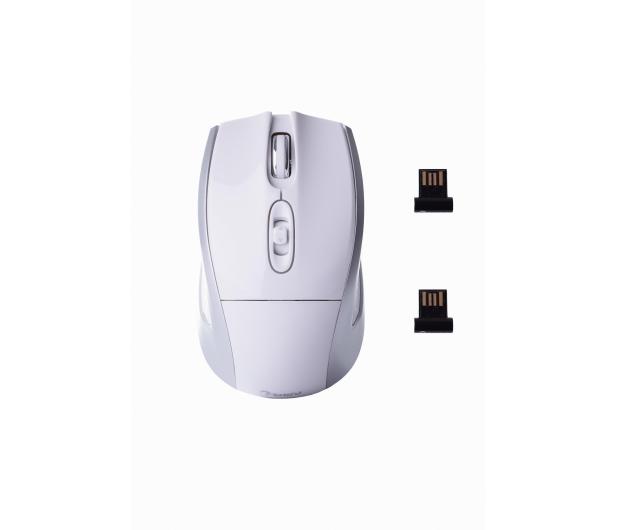 SHIRU Wireless Silent Mouse (Biała) - 326903 - zdjęcie 5