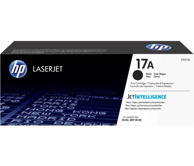 HP 17A black 1600 str. (CF217A) - 330335 - zdjęcie