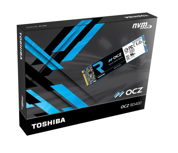 OCZ 512GB RD400 PCIe NVMe M.2 SSD  - 330612 - zdjęcie 2