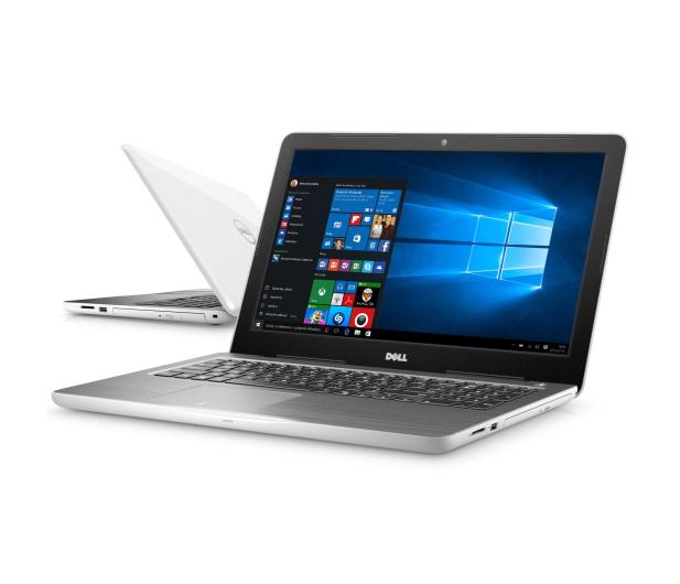 Dell Inspiron 5567 i5-7200U/4GB/500/Win10 R7 biały - 323017 - zdjęcie