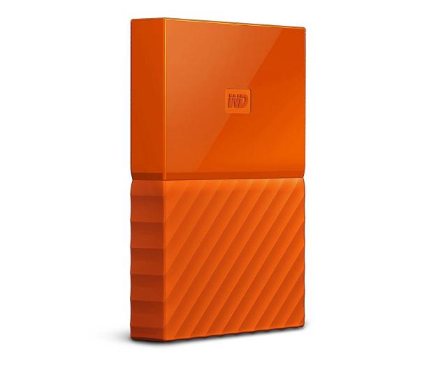 WD My Passport 2TB pomarańczowy USB 3.0 - 435330 - zdjęcie 4