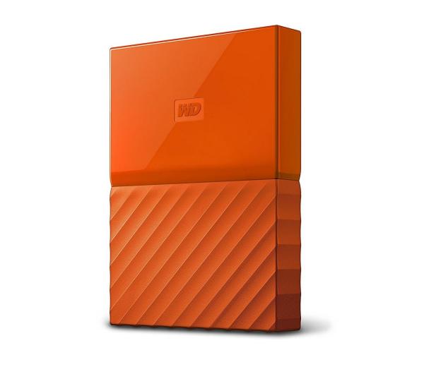 WD My Passport 2TB pomarańczowy USB 3.0 - 435330 - zdjęcie 3