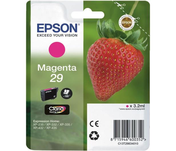 Epson 29 magenta 180 str. (C13T29834010) - 332045 - zdjęcie