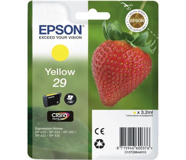 Epson 29 yellow 180 str.  - 332046 - zdjęcie