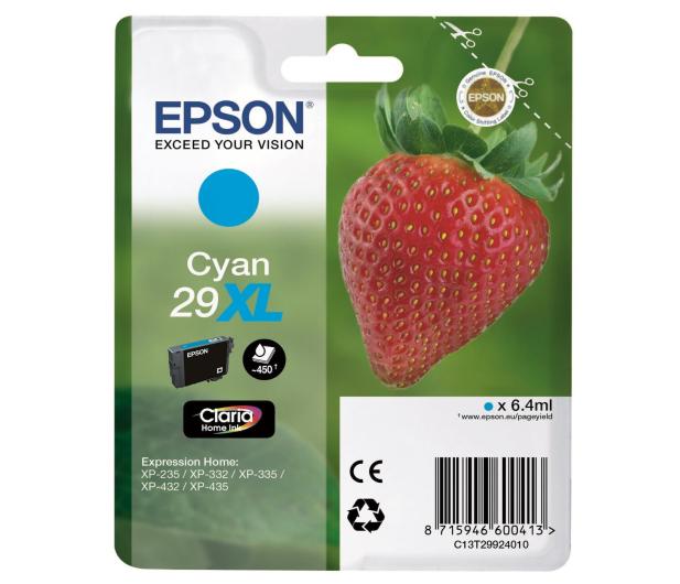 Epson 29XL Cyan 450 str. - 332039 - zdjęcie