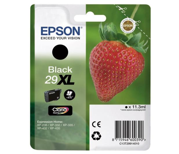 Epson 29XL black 470 str.  - 332042 - zdjęcie