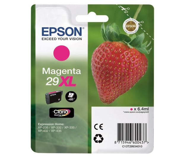 Epson 29XL Magenta 450 str.  - 332040 - zdjęcie