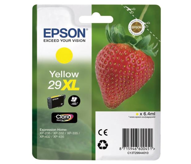 Epson 29XL Yellow 450 str.  - 332041 - zdjęcie