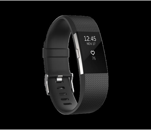 Fitbit Charge 2 HR L Black-Silver - 332273 - zdjęcie 1