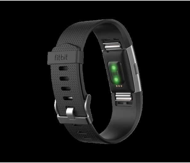 Fitbit Charge 2 HR L Black-Silver - 332273 - zdjęcie 3