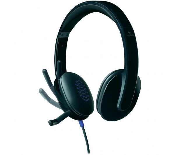 Logitech H540 Headset czarne z mikrofonem - 122603 - zdjęcie 3