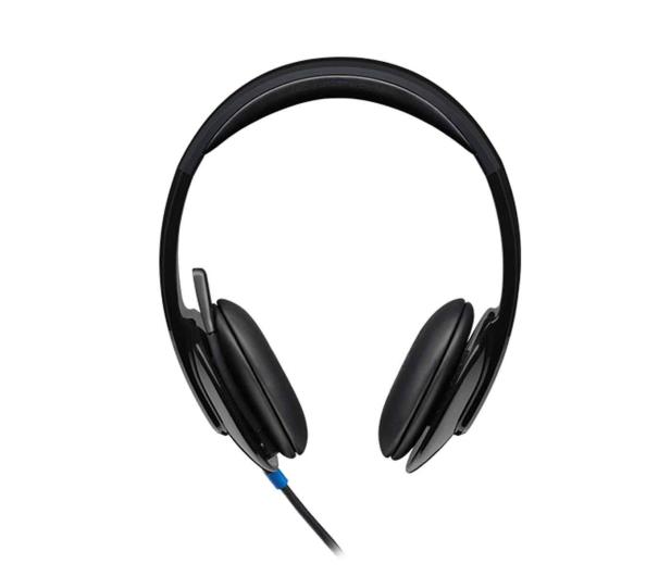 Logitech H540 Headset czarne z mikrofonem - 122603 - zdjęcie 2
