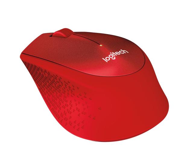 Logitech M330 Silent Plus (czerwona) - 329392 - zdjęcie 2