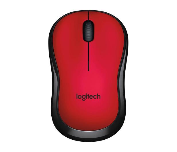 Logitech M220 Silent (czerwona)  - 329386 - zdjęcie 4