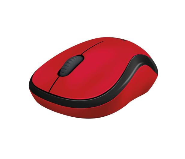 Logitech M220 Silent (czerwona)  - 329386 - zdjęcie 3