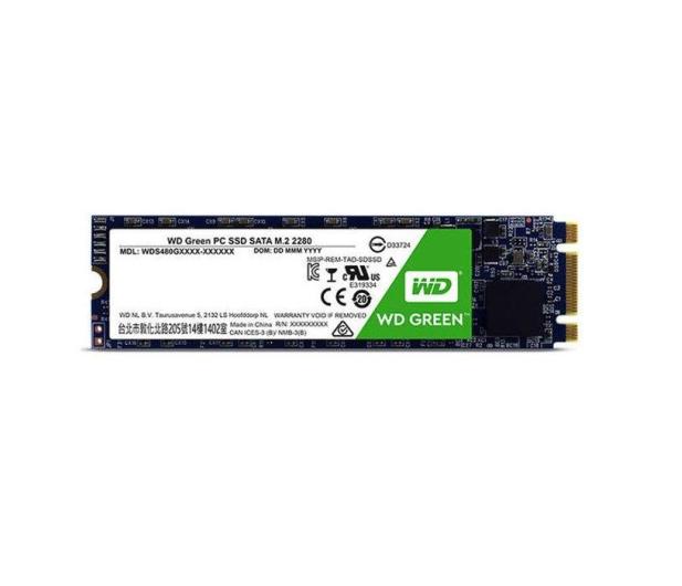 WD 480GB Green SSD M.2 2280 3D NAND  - 331918 - zdjęcie