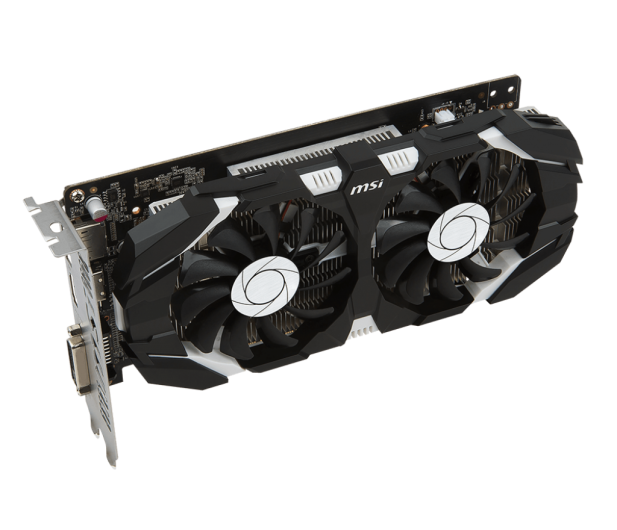 MSI GeForce GTX 1050 TI OC 4GB + Kingston 120GB A400 - 443223 - zdjęcie 5