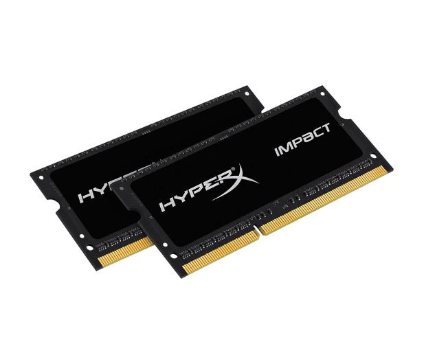 HyperX 16GB 1866MHz Impact Black CL11 1.35V (2x8GB) - 335750 - zdjęcie 2