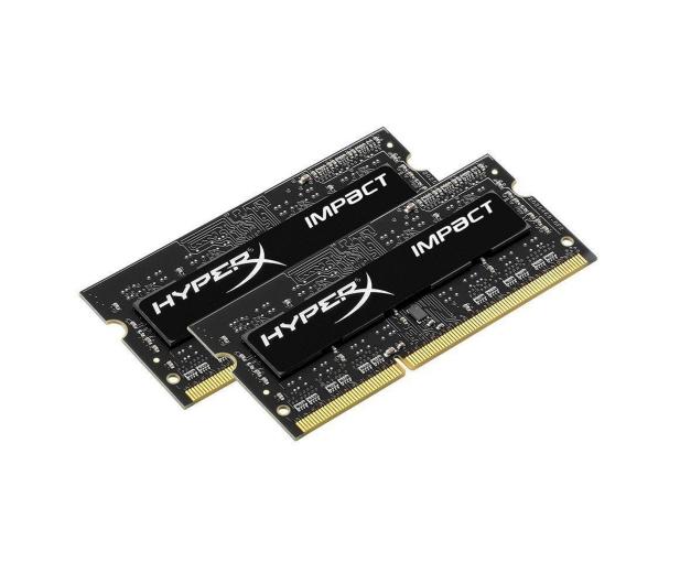 HyperX 8GB 1600MHz Impact Black CL9 1.35V (2x4GB) - 335758 - zdjęcie 2