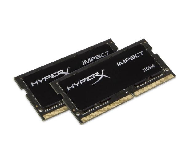 HyperX 16GB (2x8GB) 2666MHz Impact Black CL15 1.2V  - 345943 - zdjęcie 2