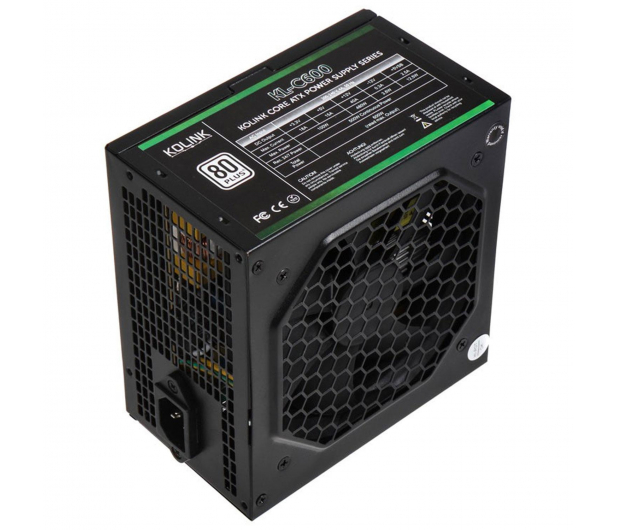 Kolink Core 600W 80 Plus - 335578 - zdjęcie