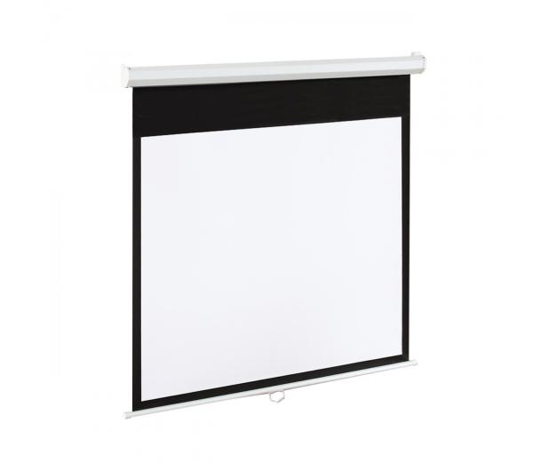 ART Ekran elektryczny 100' 203x152 4:3 Biały Matowy - 336422 - zdjęcie