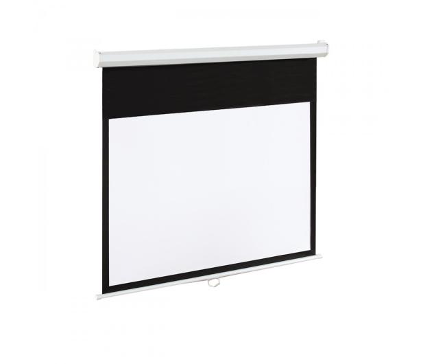 ART Ekran elektryczny 120' 265x150 16:9 Biały Matowy  - 336430 - zdjęcie