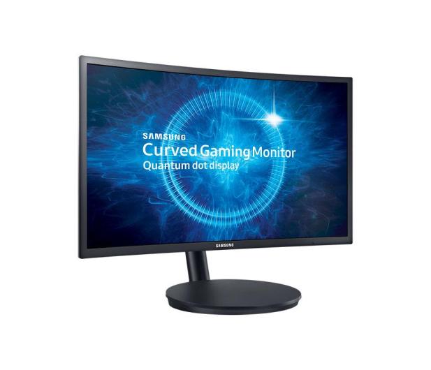 Samsung C27FG70FQUX Curved czarny Quantum Dot   - 336801 - zdjęcie 2