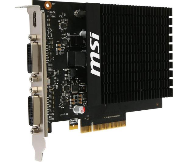 MSI GeForce GT 710 H2D 2GB - 336559 - zdjęcie 2
