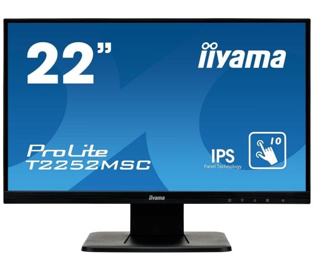 iiyama T2252MSC-B1 dotykowy - 337048 - zdjęcie