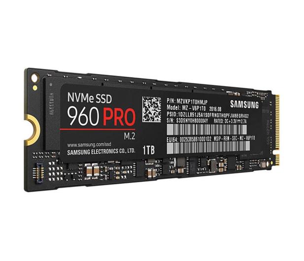 Samsung 1TB M.2 PCIe NVMe 960 Pro - 337410 - zdjęcie 2