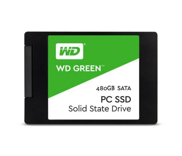 """WD 480GB 2,5"""" SATA SSD Green - 331913 - zdjęcie"""