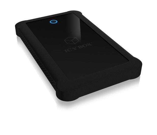 """ICY BOX Obudowa do dysku 2.5"""" (USB 3.0, czarny) - 334385 - zdjęcie"""