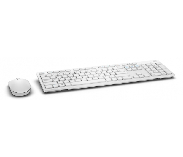 Dell KM636 Wireless Keyboard and Mouse (biała) - 332974 - zdjęcie 2