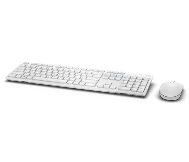 Dell KM636 Wireless Keyboard and Mouse (biała) - 332974 - zdjęcie 3