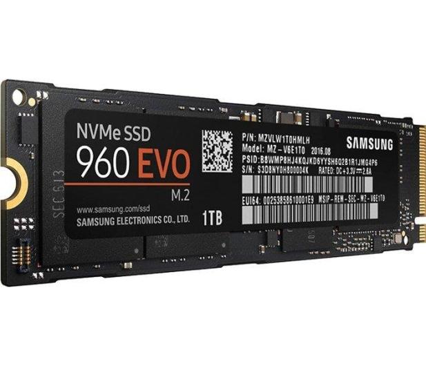 Samsung 1TB 1,8'' Seria 960 EVO M.2 2280 NVMe - 339261 - zdjęcie 2