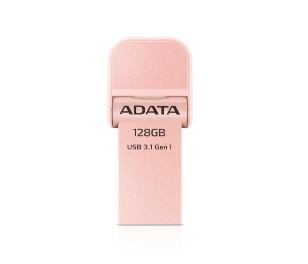 ADATA 128GB i-Memory AI920 rose gold (USB3.1+Lightning)  - 339472 - zdjęcie 2