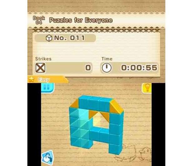 Nintendo 3DS Picross 3D Round 2 - 338274 - zdjęcie 4