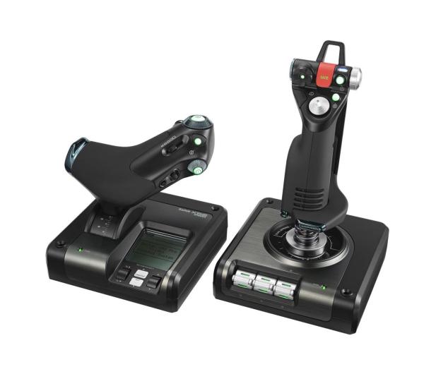 Logitech G Saitek X52 Pro Flight Control System  - 341576 - zdjęcie