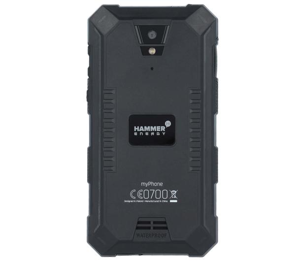 myPhone Hammer ENERGY LTE Dual SIM czarny - 338804 - zdjęcie 4