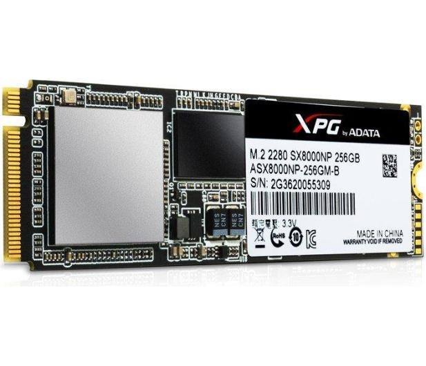ADATA 256GB M.2 PCIe NVMe XPG SX8000 - 339041 - zdjęcie 4