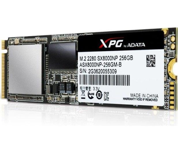ADATA 256GB M.2 PCIe NVMe XPG SX8000 - 339041 - zdjęcie 3