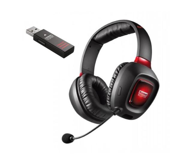 Creative Tactic 3D Rage Wireless v2.0 czarne z mikrofonem - 211668 - zdjęcie