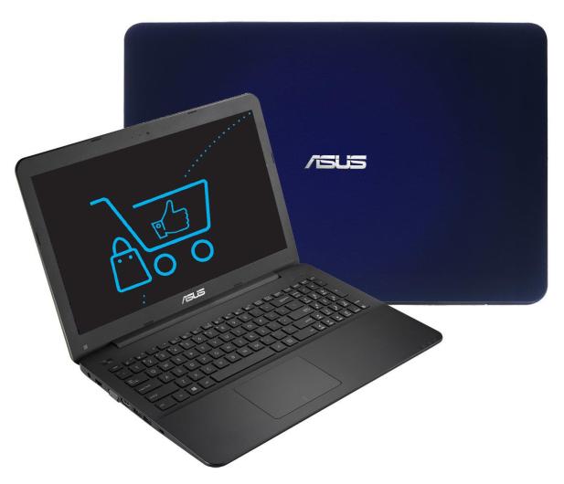 ASUS R556LJ-XO828D i3-4005U/4GB/240SSD GF920 niebieski - 262270 - zdjęcie