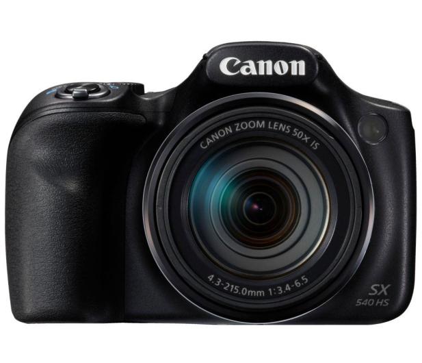 Canon PowerShot SX540 HS czarny  - 282369 - zdjęcie 2