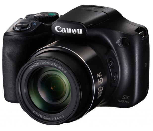 Canon PowerShot SX540 HS czarny  - 282369 - zdjęcie