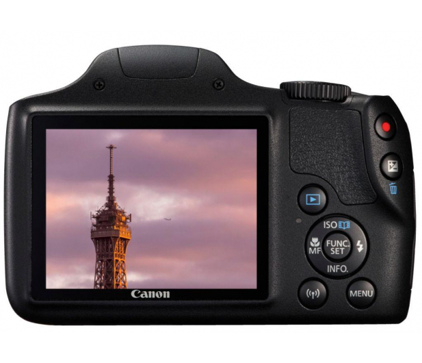 Canon PowerShot SX540 HS czarny  - 282369 - zdjęcie 3