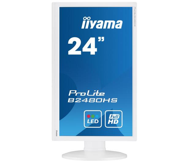 iiyama B2480HS biały  - 285630 - zdjęcie 4